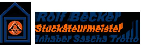 Becker Stuckateur Logo